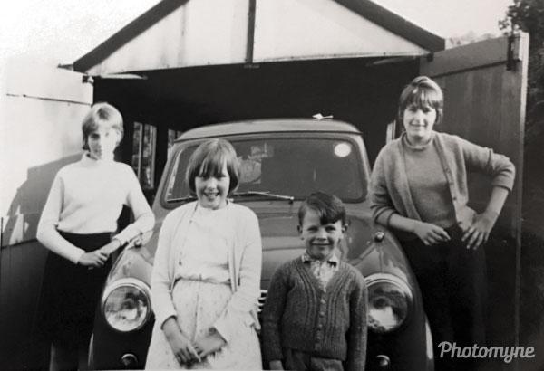 Dad's first car. USA 1966