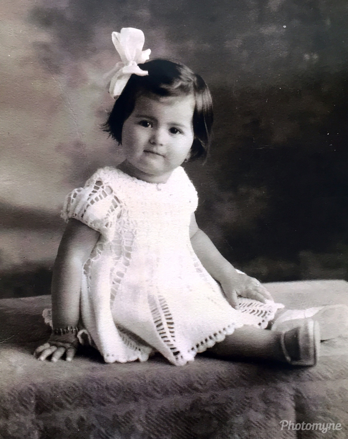 Mi suegra en su más tierna infancia , hoy tiene 85 años! (My mother-in-law in her early childhood, today she is 85 years old!) Cucutá Norte de Santander, Maicao, Colombia, 1933