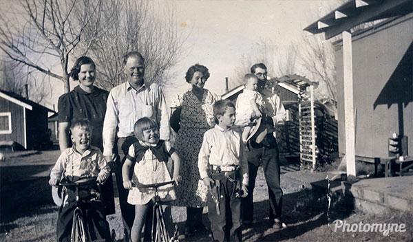 In California. CA, USA 1940