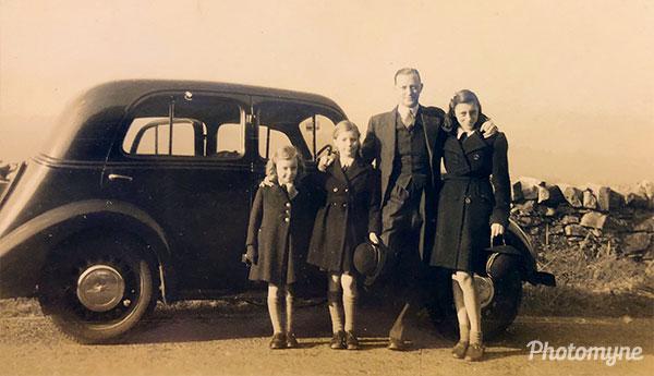 Half term Sanford School. UK 1945