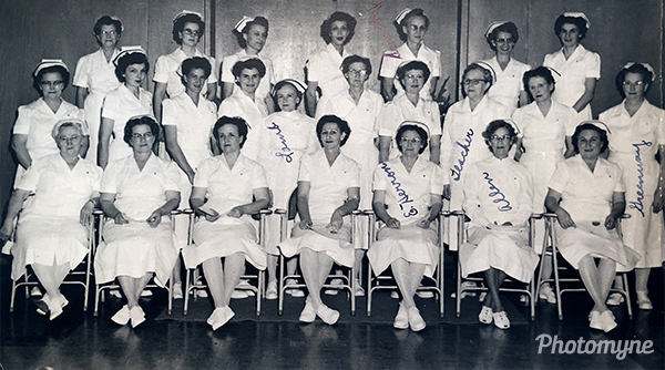 Etta Herron Graduation in Practical Nursing. USA 1936