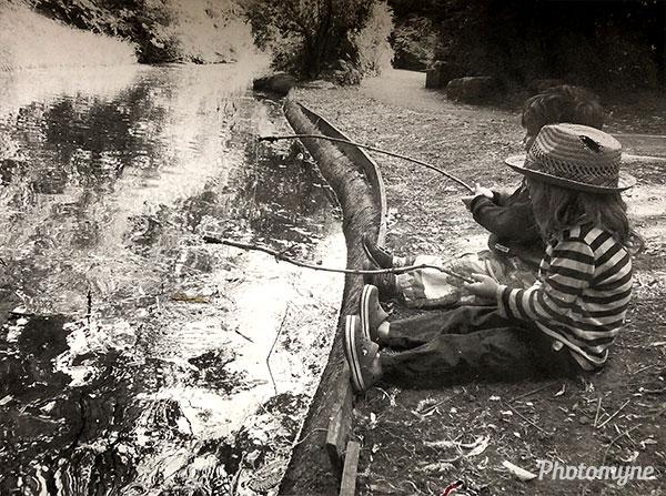 Gone fishing. UK 2011