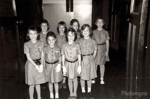 Brownie troop. USA 1962