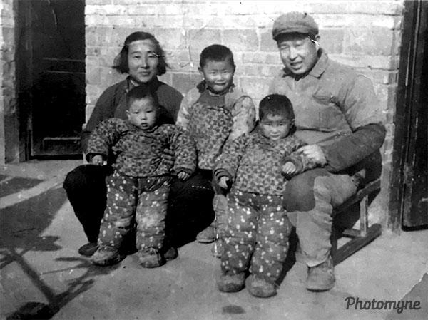 爸爸小时候 Daddy (When Dad was a child). China 1972