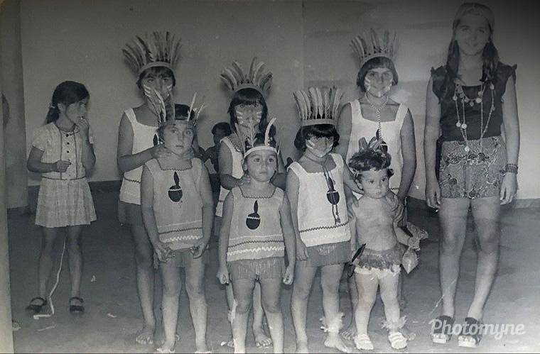 Carnaval no Clube Barbacenense, Brazil, 1972