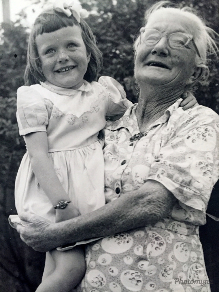 A special time, me and my Grandma. I still have those beautiful freckles 👌, 1957 , Sydney, Australia