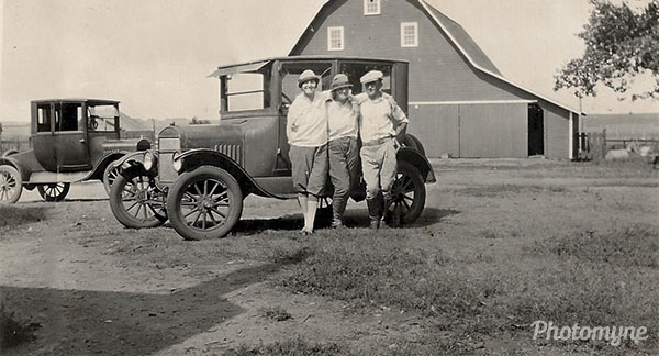 On the farm. USA 1940