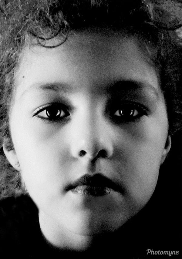 Granddaughter. UK 2014