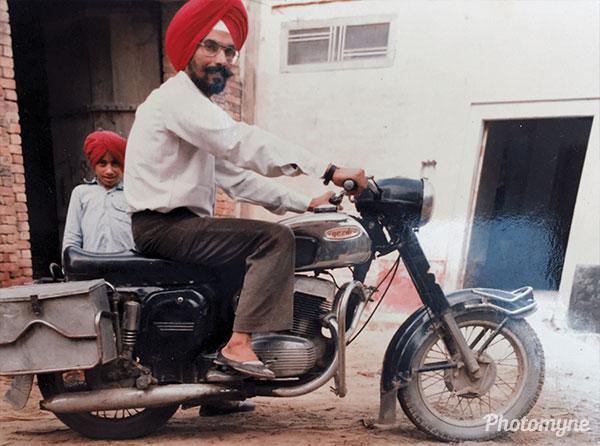 Outside my house Kila at the village of Khokhar. India 1985