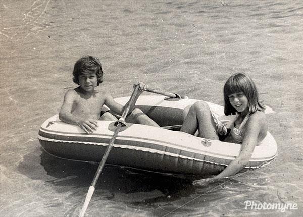 Moi et ma femme (Me and my girl). France 1974