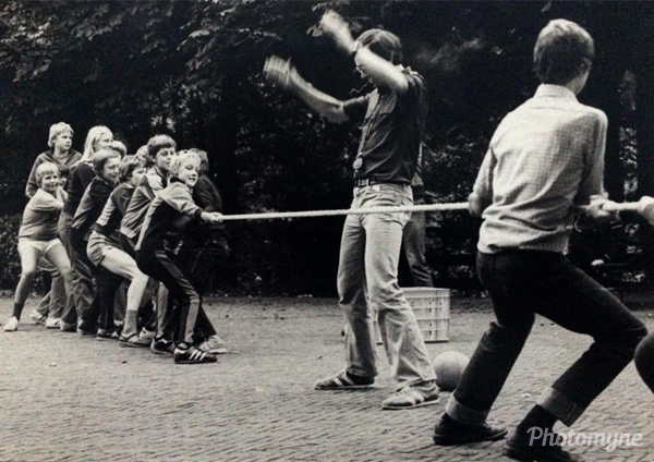 Brugklas Camp. The Netherlands, 1978