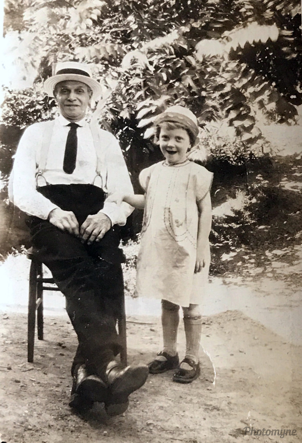Husband of Mrs Frantz who kept me awhile when mother died. USA 1925