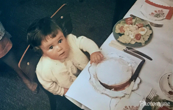 Peter's 1st Birthday. Spain 1965