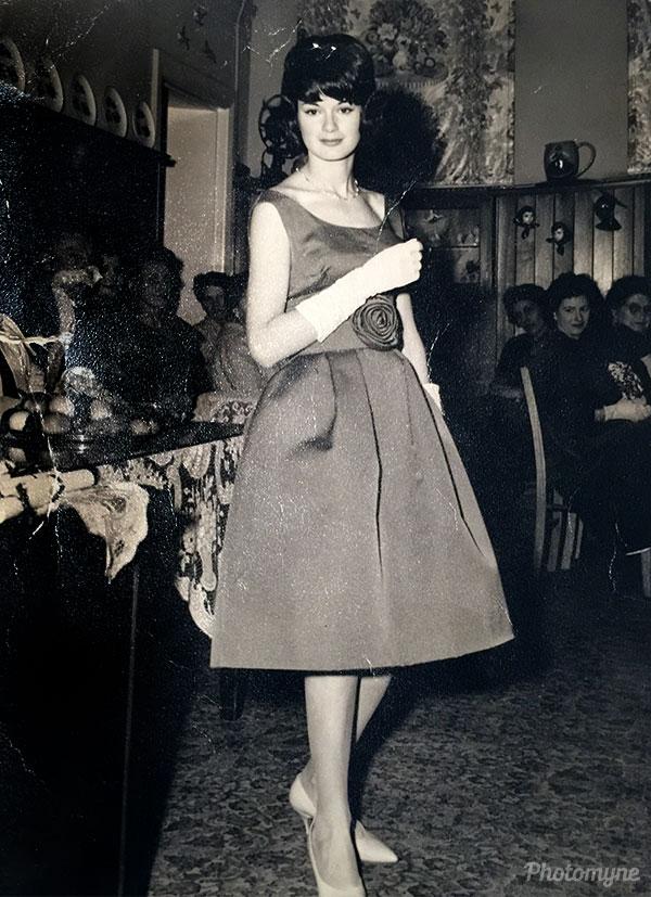 My Graduation from Fowler Hamilton Modelling Academy. Australia 1960