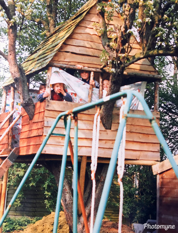 Tree house. UK 1991