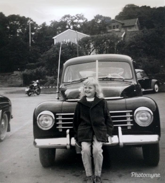 Ellinor i Kungälv, Sweden, 1958