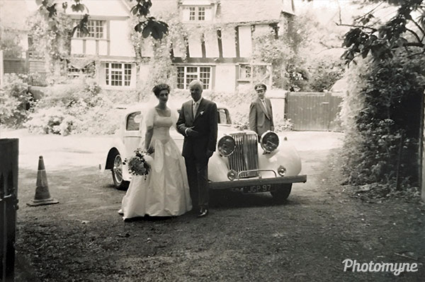 Our wedding. Great Britain (year unknown)