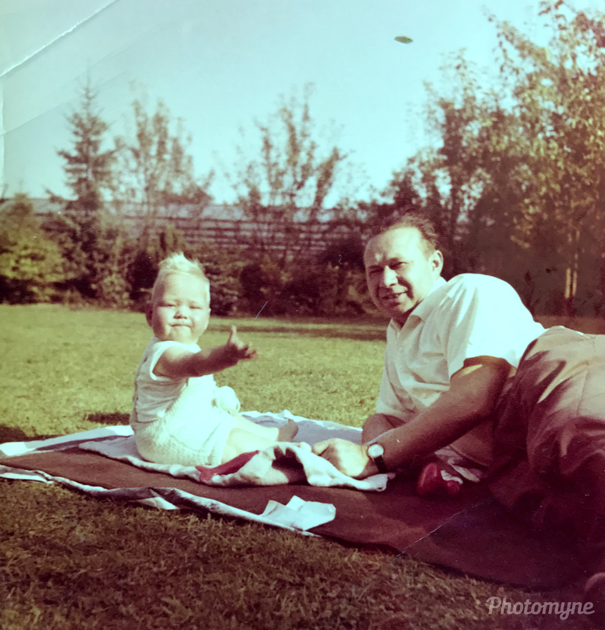 me and my father, Giesenkirchen, Nordrhein-Westfalen, Germany, 1962
