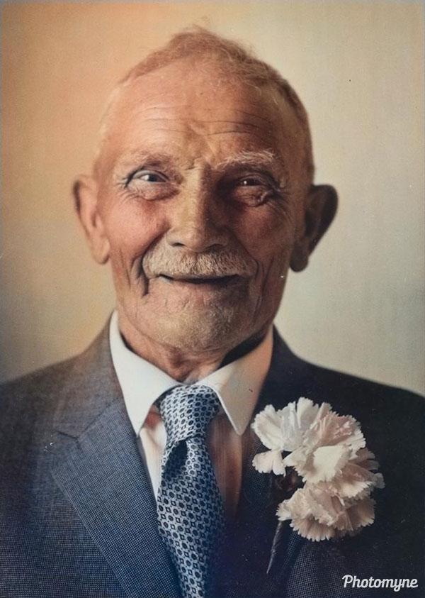 Opa (Grandpa). Netherlands 1980