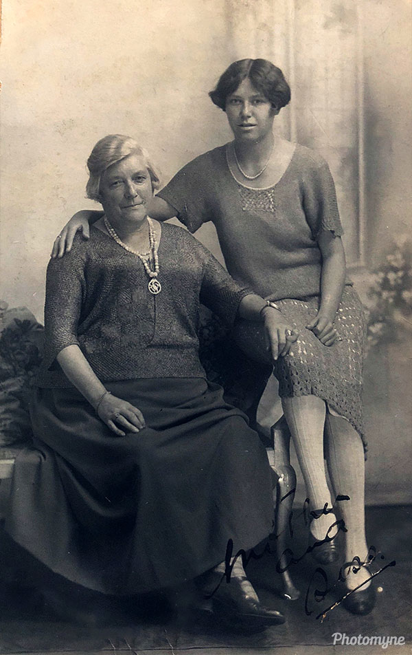 Great-grandmothers. Great Britain 1926
