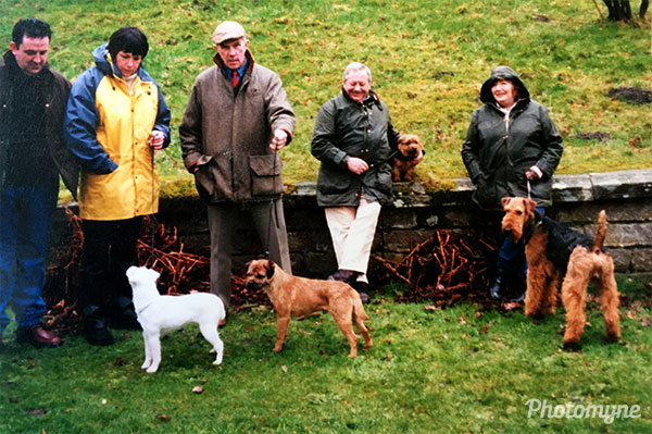 Oxcroft Tinker at Chatsworth, Crufts programme. GB 2002