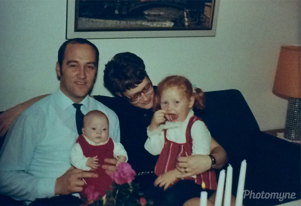 Familjen Johansonn (The Johansonn family). Sweden 1970