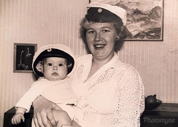 Mor och dotter (Mother and daughter). Sweden 1960
