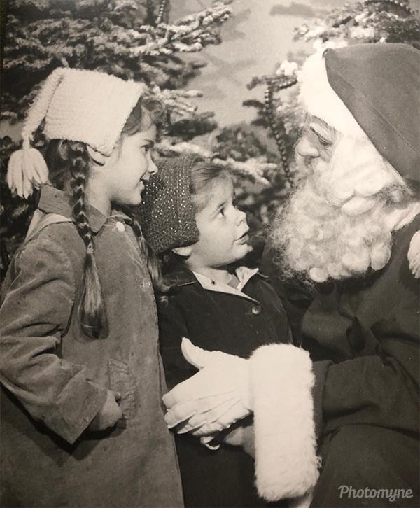 Christmas. WA, USA 1957