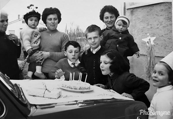 Vilma's birthday. Italy 1966