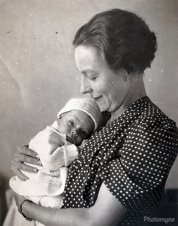 Alice Pickles and Ian Charles. South Africa 1941