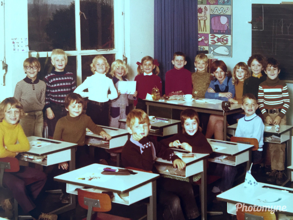 Klassenfoto (Class Photo), Netherlands, 1974