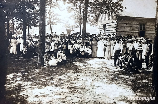 Hollis Chapel Church. Tennessee, USA 1912