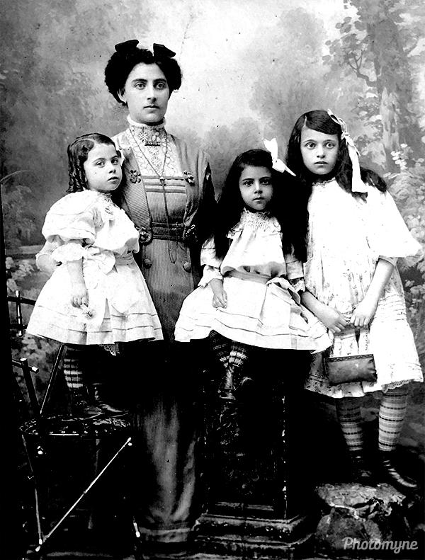 Edna/Esther Klask. Ukraine 1909