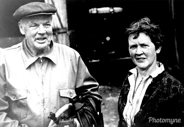 Tante Olga og Onkel Sværre (Aunt Olga and Uncle Sværre). Norway 1966