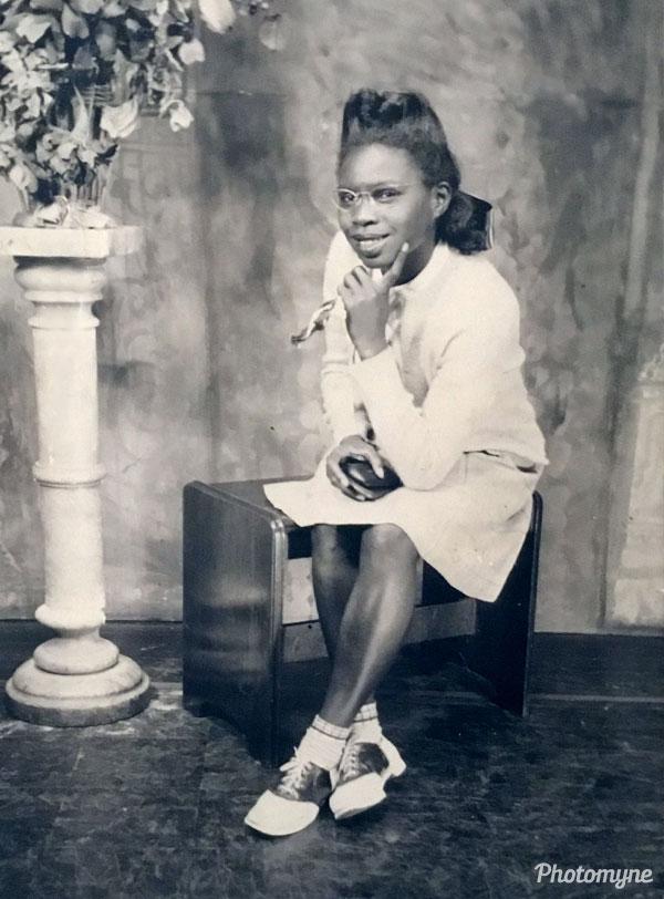 My mom. USA 1943