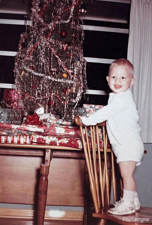 Davids second Christmas. USA 1960