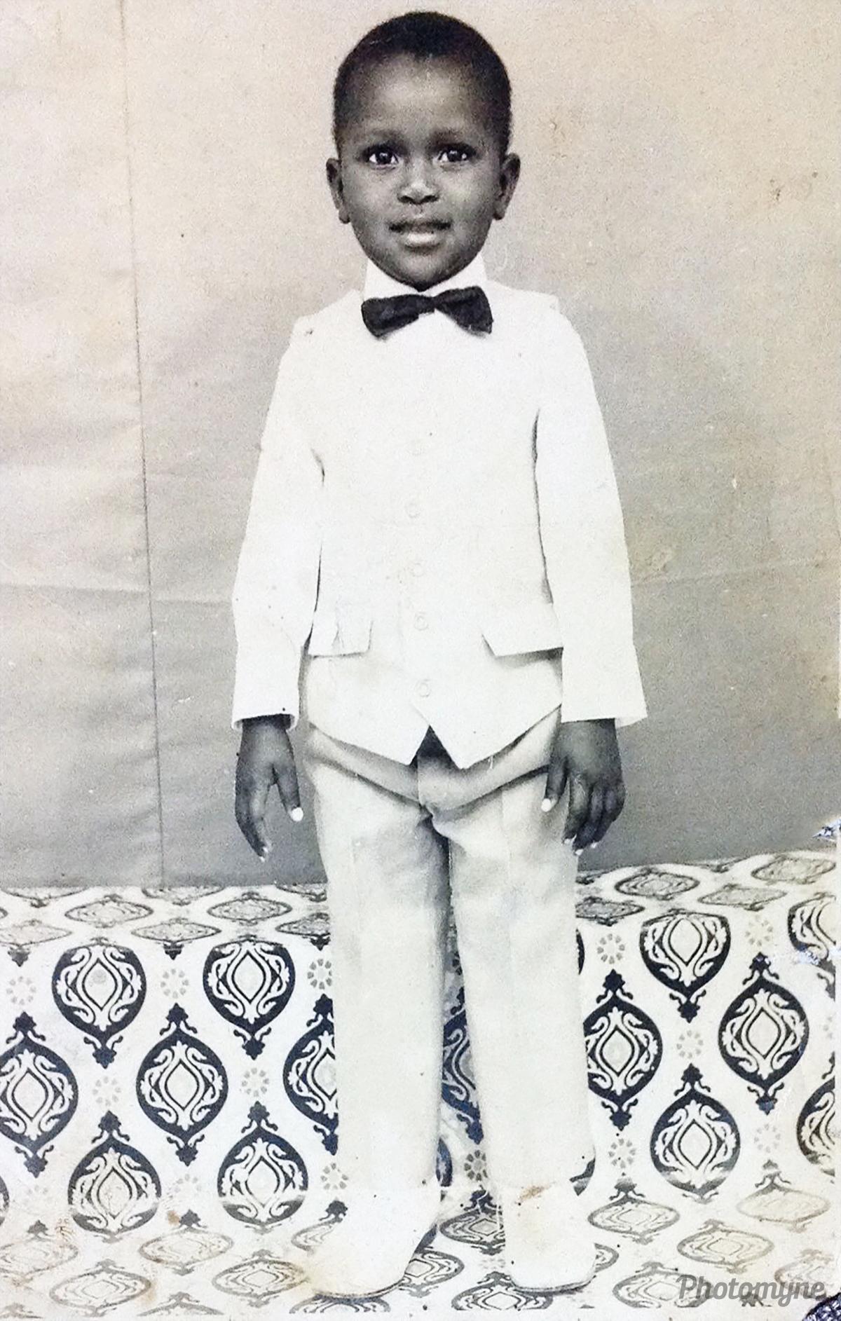 Photo enfance, Côte d'Ivoire (Ivory Coast), 1972