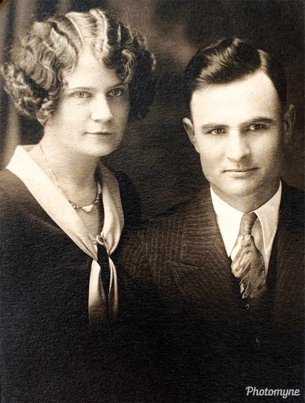 Maurice and Hazel Ruch. USA (date unknown)