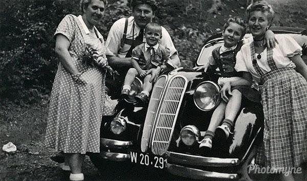 Semmering. Austria 1950