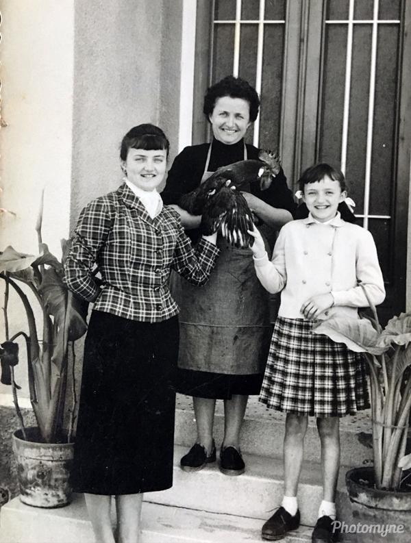 Maria Rosa Santa Rosa. Italy 1957