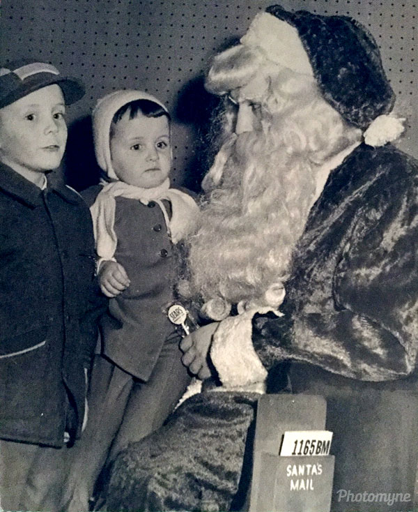 Visit with Santa Claus. USA 1958