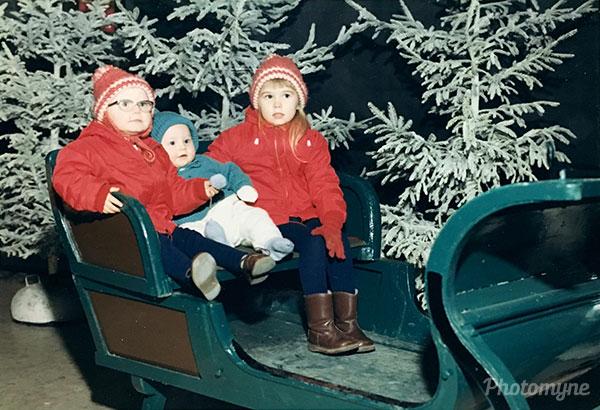 Christmas 1967. Sweden 1967