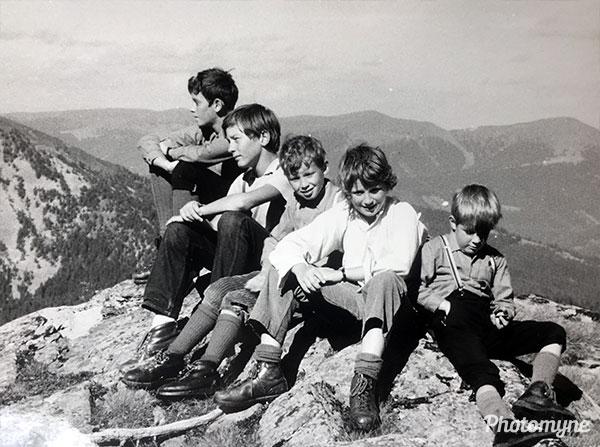 Eisenhut Mountain. Austria 1971