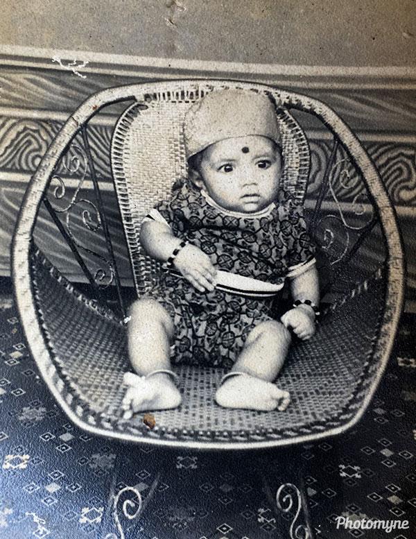Childhood memory. India 1974