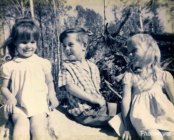Nadine 2, LeAaron 3, Karen 4 Ear Falls, Ontario. Canada 1962