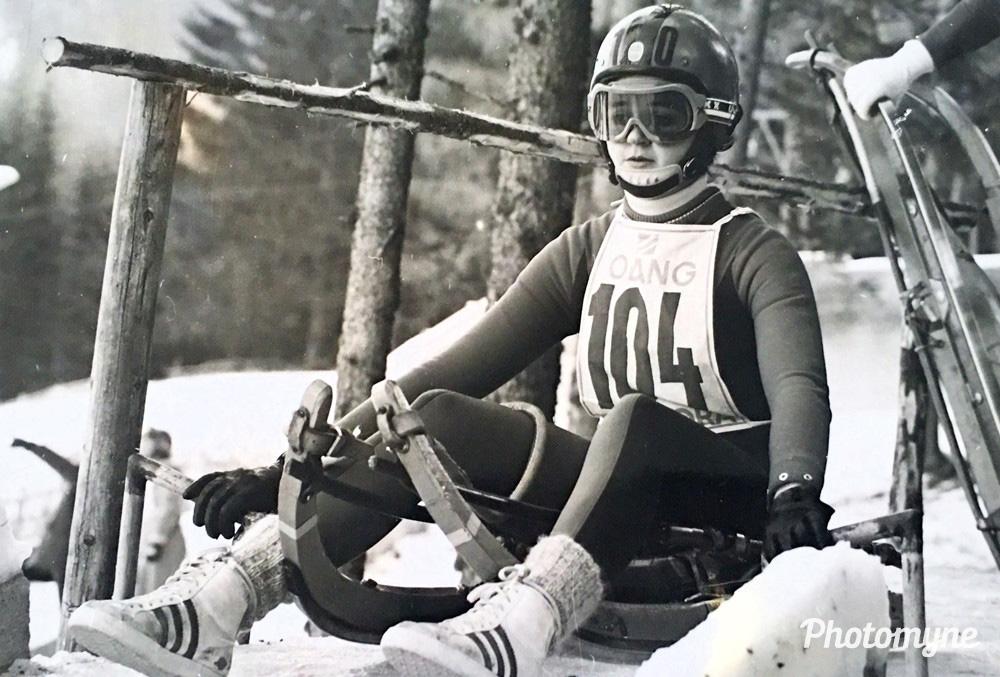 Europees Championship sleighriding, Valdaora / Olang, 1974