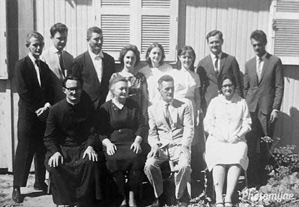 Família de João Arboite e Nina Rosa Lazzarotto (Family of João Arboite and Nina Rosa Lazzarotto). Brazil 1952