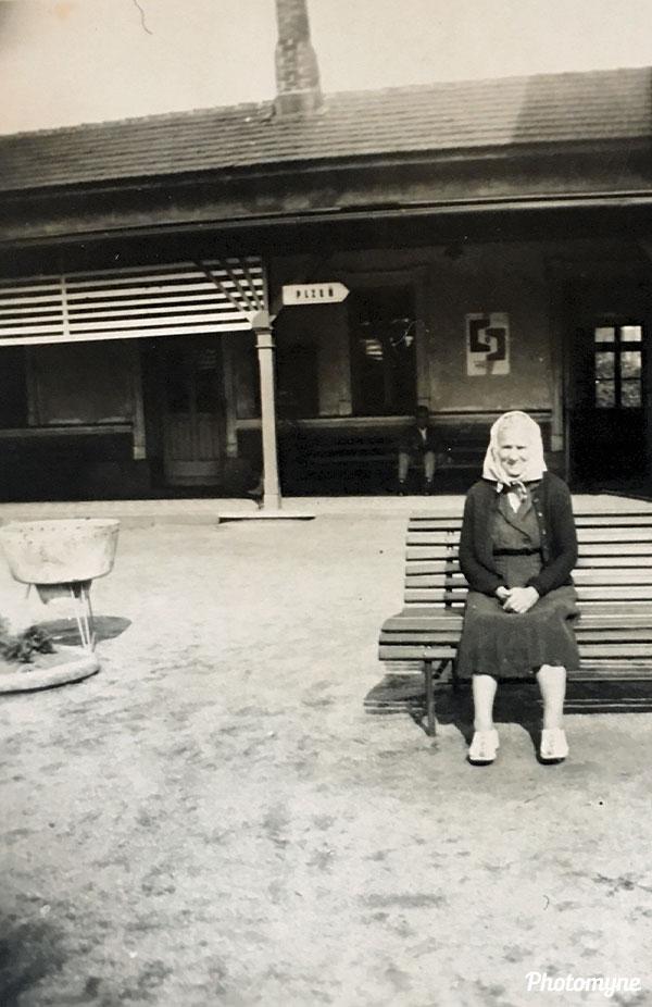 Babi z Radkovic (Grandma from Radkovice). Czechia (year unknown)