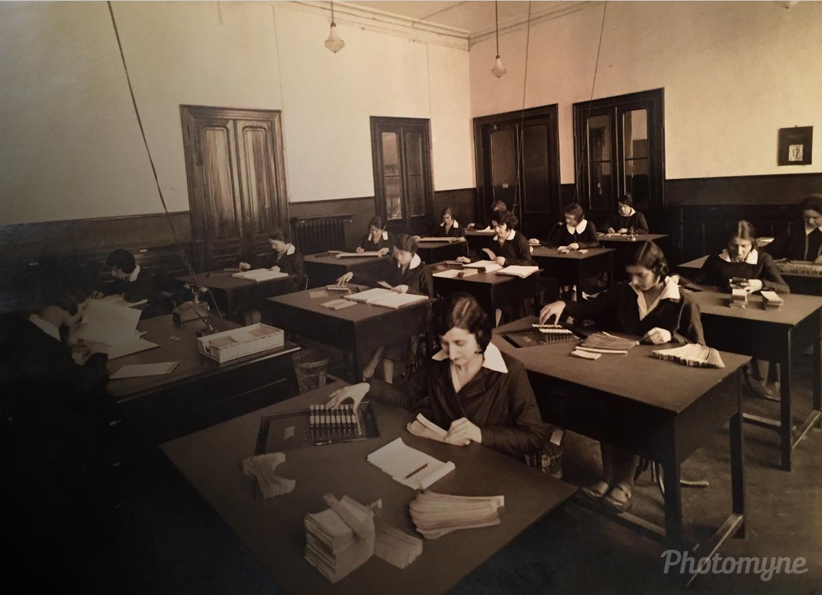 Scuola di contabilità (Accounting School), italy, 1935