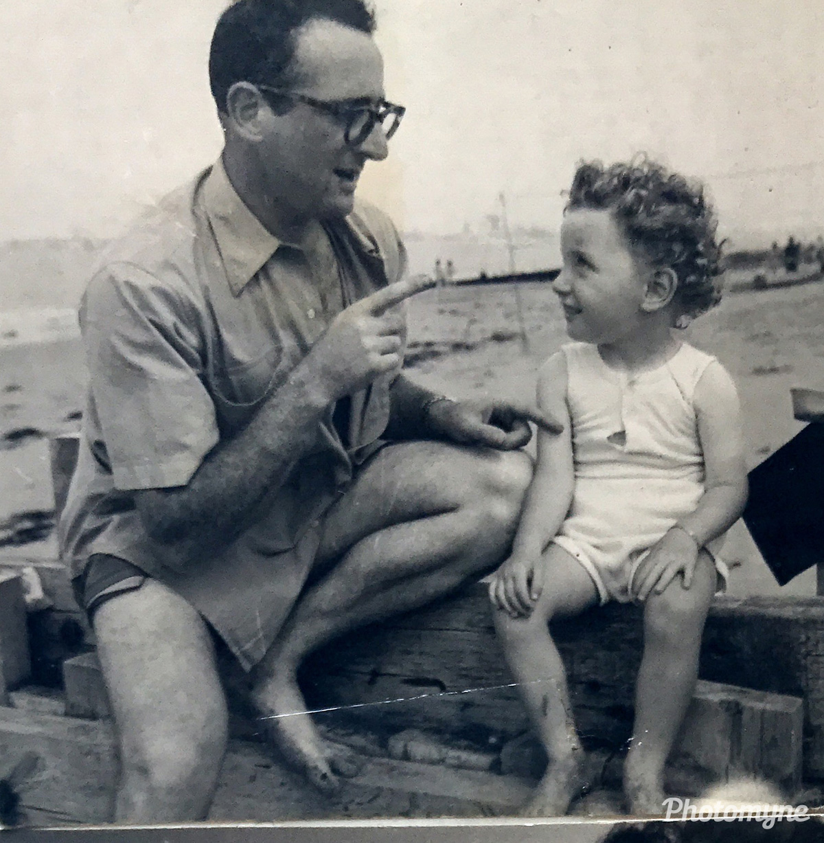 Papa et son fiston (Dad and his son), France, 1957